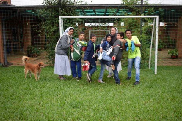 Paragwaj uczniowie zdjęcie grupowe