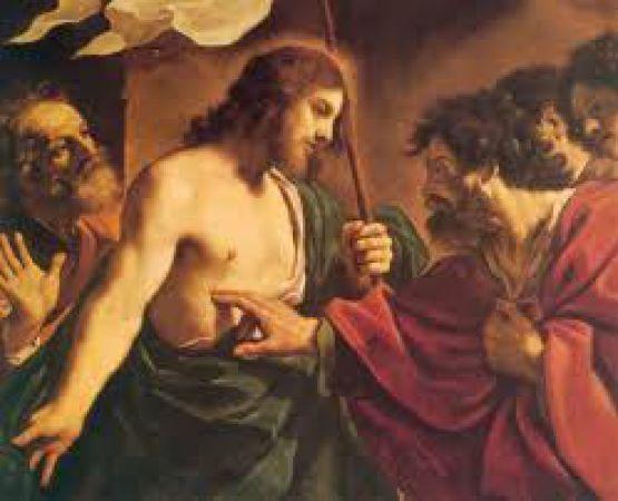 Jezus i Niewierny Tomasz obraz
