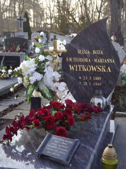 Pomnik nagrobny s. Teodora Witkowska