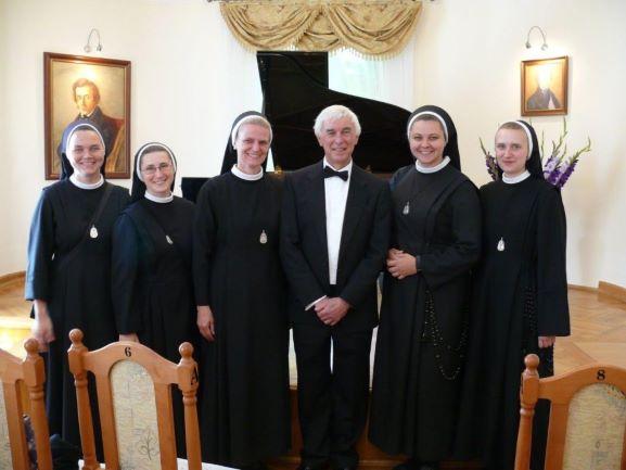 Siostry Wieczystki Zdjęcie Grupowe