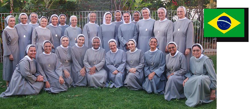 zdjęcie grupowe sióstr w Brazylii