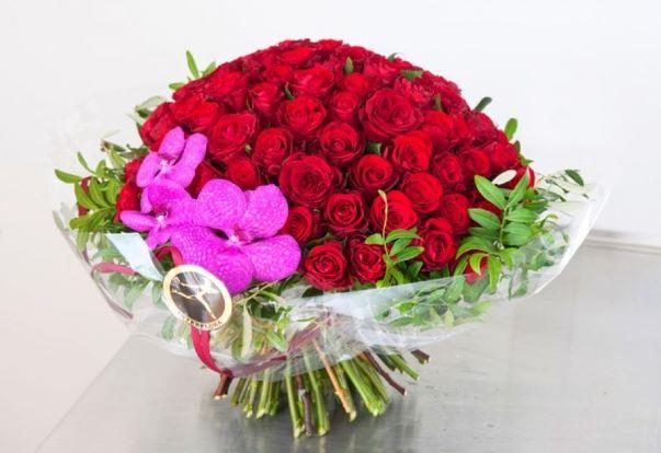 zdjęcie bukiet róż