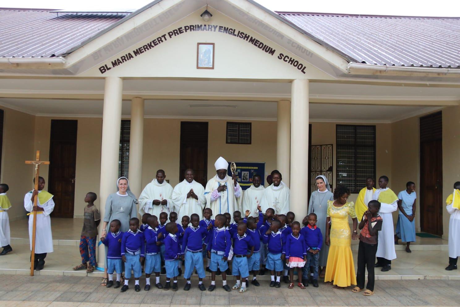Otwarcie przedszkola w Tanzanii