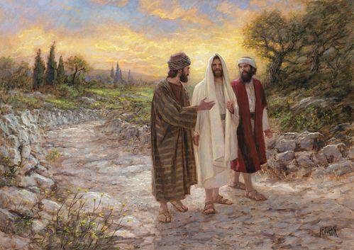 Obrazek Jezus z uczniami