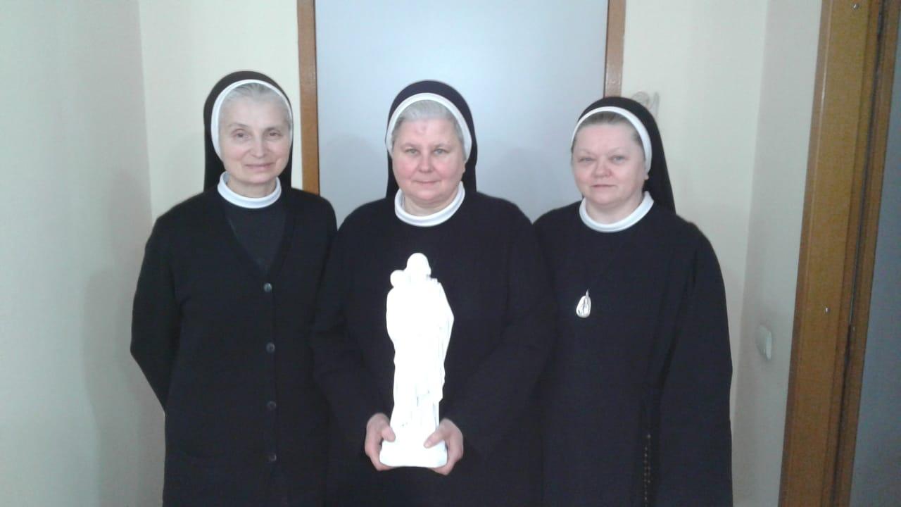 Siostry w Gruzji ze swJozefem